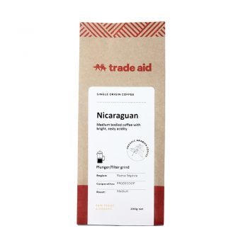 Nicaraguan single origin – medium grind | TradeAid