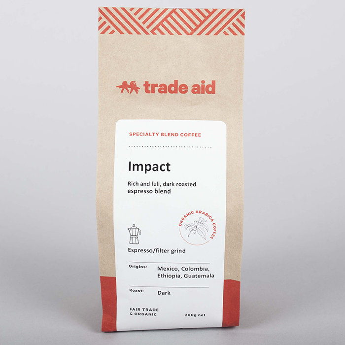 Impact blend – espresso grind | TradeAid