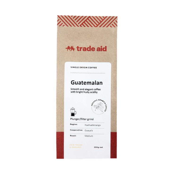 Guatemalan single origin – medium grind | TradeAid