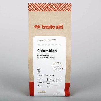 Colombian single origin – espresso grind | TradeAid