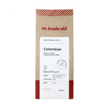 Colombian single origin – espresso grind | TradeAid