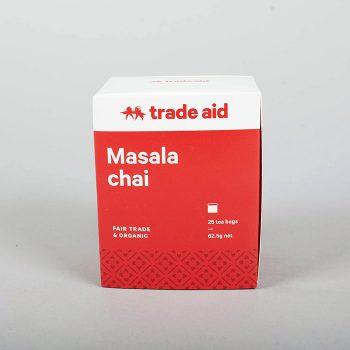 Masala chai tea – 25 tea bags | TradeAid