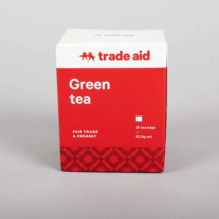 Green tea – 25 tea bags | TradeAid