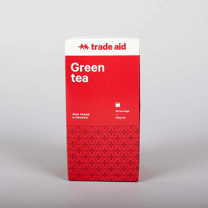 Green tea – 50 tea bags | TradeAid