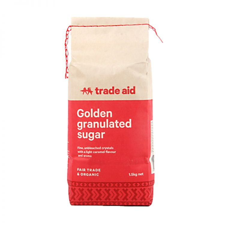 Golden granulated sugar – 1.5kg | TradeAid