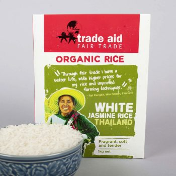 White jasmine rice – 1kg | Gallery 2 | TradeAid