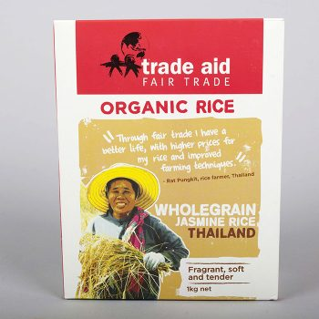 Wholegrain jasmine rice – 1kg | TradeAid