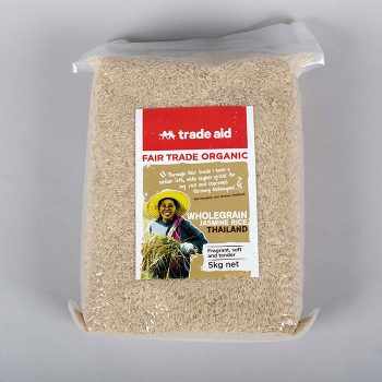 Wholegrain jasmine rice – 5kg | TradeAid