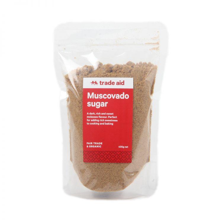 Muscovado sugar – 400g | TradeAid