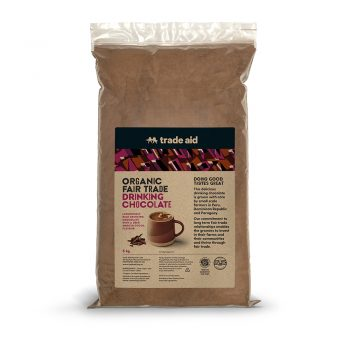 Organic drinking chocolate – 5kg | TradeAid
