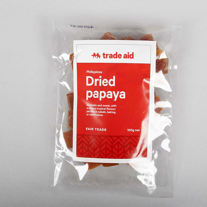 Dried papaya | TradeAid