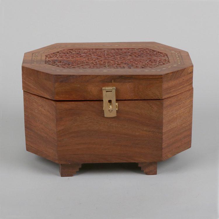 Sheesham wood jewellery box | TradeAid
