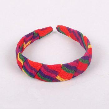 Woven rainbow hairband | TradeAid