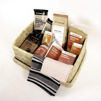A basket of goodness gift hamper | TradeAid