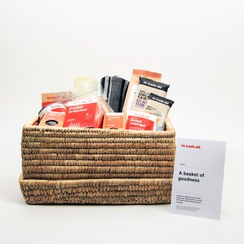 A basket of goodness gift hamper | TradeAid