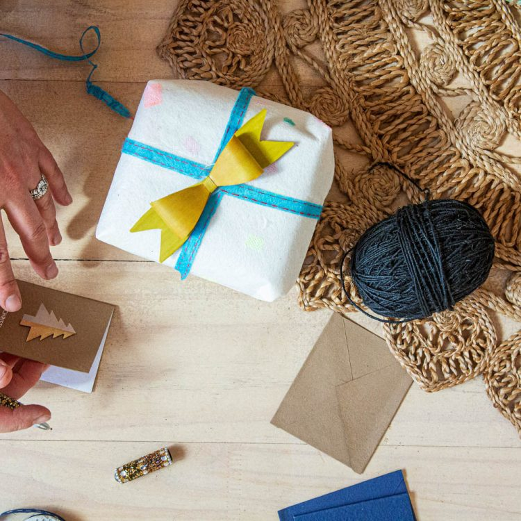 Silk net wrapping paper | TradeAid