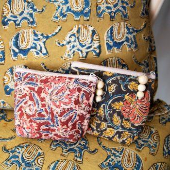 Kalamkari purse | TradeAid