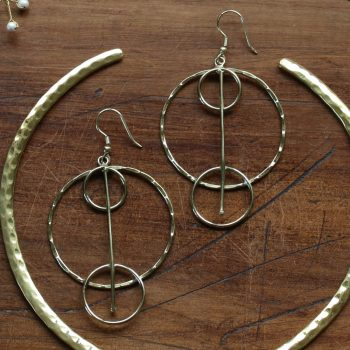 Triple ring earrings | TradeAid