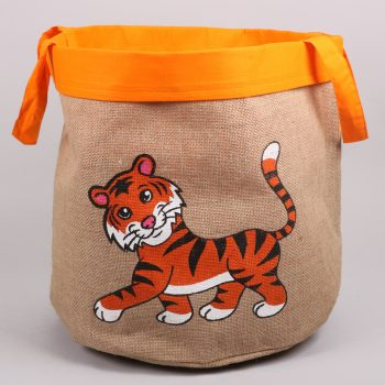 Tiger toy basket | TradeAid