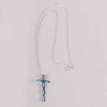 Blue cross necklace | TradeAid