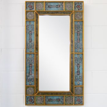 Reverse painted mirror | TradeAid