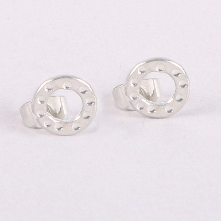Circle stud earrings | TradeAid