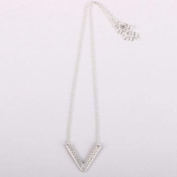 V shape pendant necklace | TradeAid