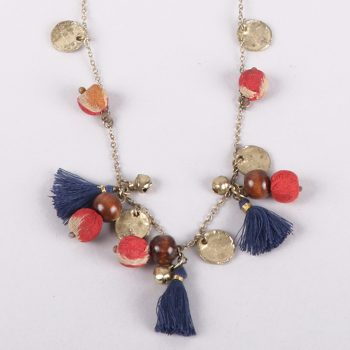 Recycled bead and tassel necklace | Gallery 1 | TradeAid