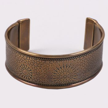 Antiqued starburst cuff | TradeAid