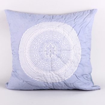 Euro pillowcase with circle design | TradeAid
