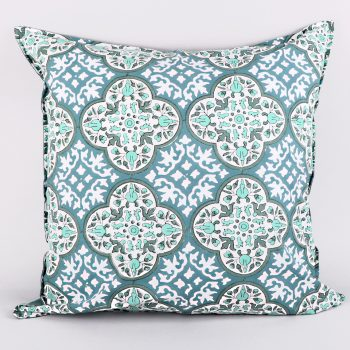 European mosaic print pillowcase | TradeAid
