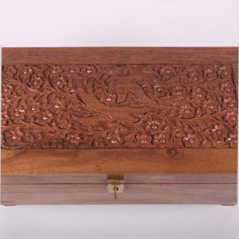 Large carved bird design sheeshamwood box | Gallery 2 | TradeAid