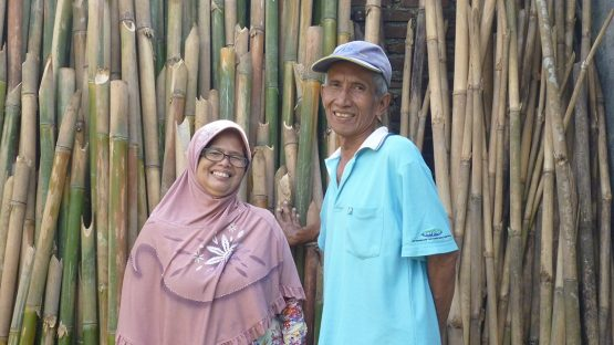 Wawan and Titin Darmawan, bamboo artisans