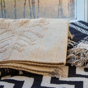 Large arrow design rug | TradeAid