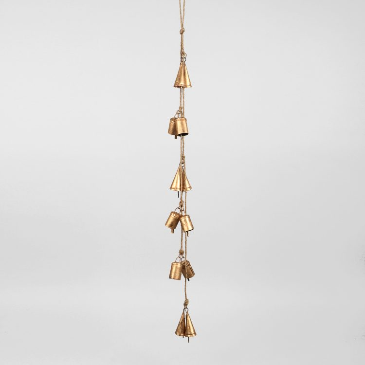 Antiqued iron bell hanging | TradeAid