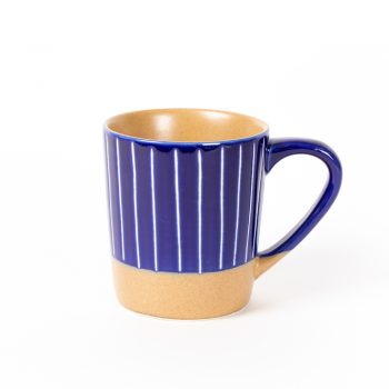 Blue stripe mug | TradeAid