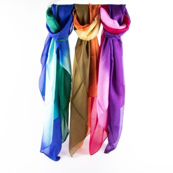 Tie dyed silk scarf | TradeAid