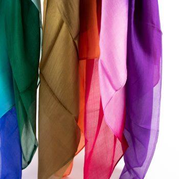 Tie dyed silk scarf | Gallery 1 | TradeAid