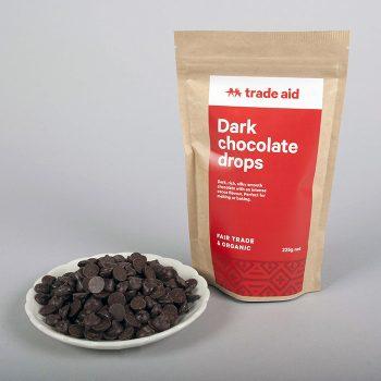 Organic 55% dark chocolate drops – 225g   Gallery 1   TradeAid