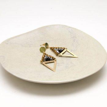 Beaded diamond earrings | Gallery 1 | TradeAid