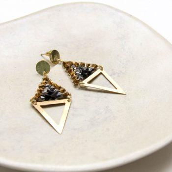 Beaded diamond earrings | Gallery 2 | TradeAid