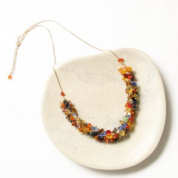Multicolour glass bead necklace | TradeAid