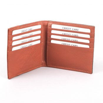 Green and tan wallet | Gallery 1 | TradeAid