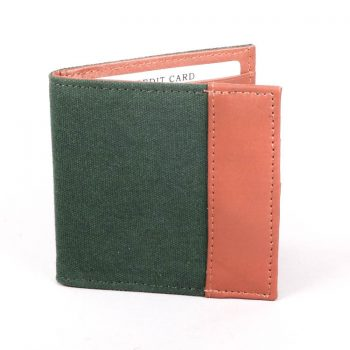 Green and tan wallet | TradeAid