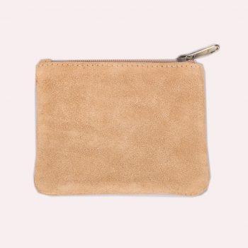 Tan suede purse | TradeAid