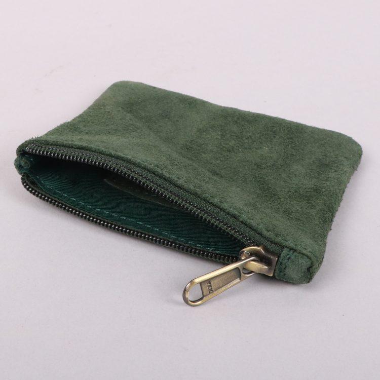 Olive suede purse | Gallery 1 | TradeAid