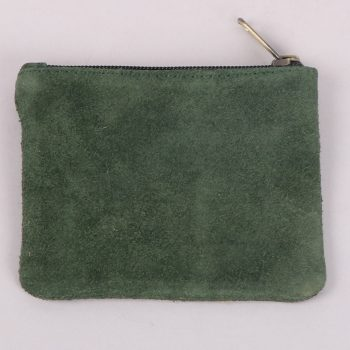 Olive suede purse | TradeAid