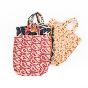 Sari tote bag | TradeAid