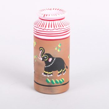 Painted animal decorative vessel | Gallery 1 | TradeAid