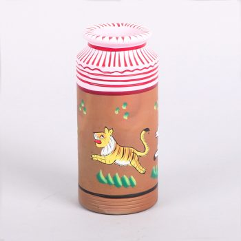 Painted animal decorative vessel | TradeAid